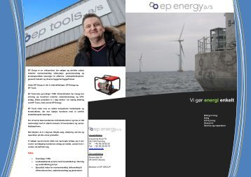 Vi gør energi enkelt - Ep tools