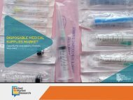 7 Trendlines in Disposable Medical Supplies Market