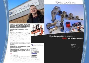 Fleksible løsninger til - Ep tools