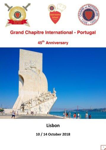 Grand Chapitre de Portugal-2018
