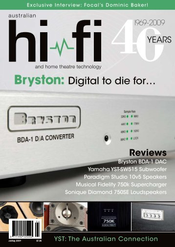 Bryston: Digital to die for… - Audio Reference