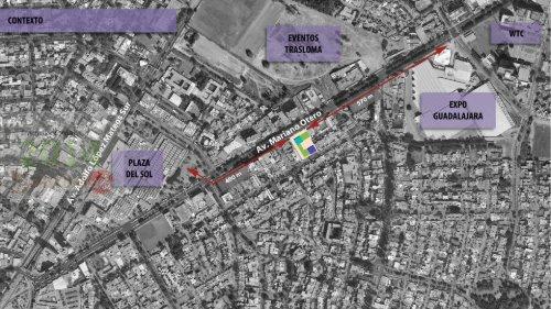 Proyecto Terreno 5200 mt2 Guadalajara, Mex.