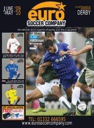 telephone:01332 666595 e-mail: sales - Euro Soccer