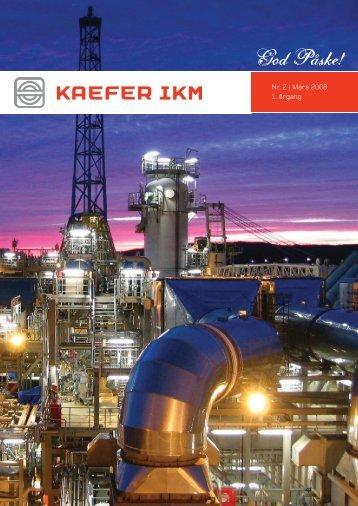 KAEFER ENERGY On Site påske 2008 - Hjem