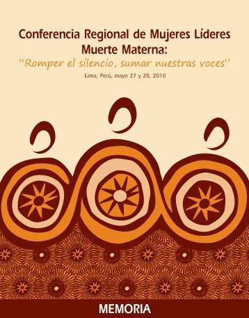 LIBRO Memorias para PDF:Maquetación 1 - UNFPA América Latina ...
