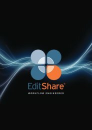 EditShare 2011 Brochure