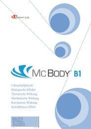 MC BODY plus B1 Ultraschallphysik Biologische Effekte, Thermische