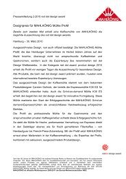 red dot design award für - KaffeeSATZ PR