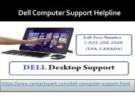 How to Resolve Troubleshoot Issue  Dell Computer Support Helpline Number ?