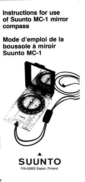 Suunto mcb nh mirror compass compass download instruction manual pdf.