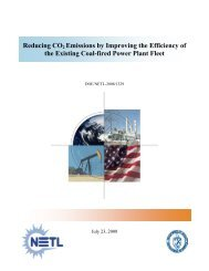 Potential Impacts of Improving the Efficiency of the - National Energy ...