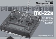 mc-22s - Graupner