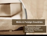 Studying Mbbs in Foreign Countries