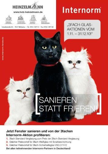 Aktionsflyer (PDF) - Holz Heinzelmann