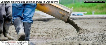 Concrete Cleaning and Sealing Service in Melbourne