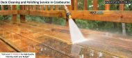Deck Cleaning and Polishing Service in Cranbourne
