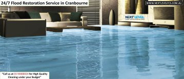 Flood Restoration Service in Melbourne