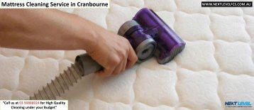 Mattress Cleaning Service in Cranbourne