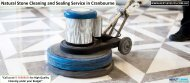 Natural Stone Cleaning and Sealing Service in Cranbourne