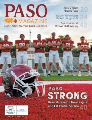 2018 August PASO Magazine