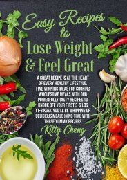 Easy Recipes to Lose Weight & Feel Great - Kitty Cheng