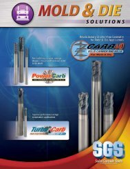 Power-Carb Solid Carbide End Mills for Mold & Die - SGS Tool ...