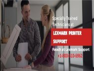 Lexmark Printer Support 1-800-610-6962 Lexmark Printer Repair