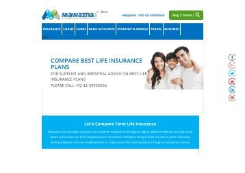Family Protection Insurance Plan in Pakistan
