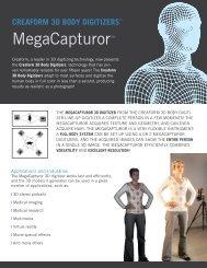 creaform 3d body digitizers