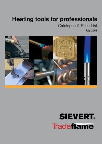 Catalogue & Price List - Primus