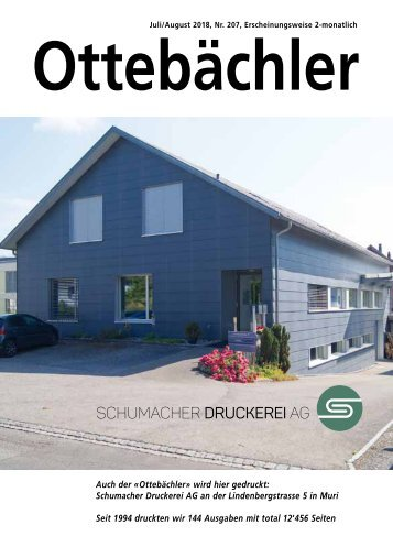 Ottebächler 207 Juli 2018