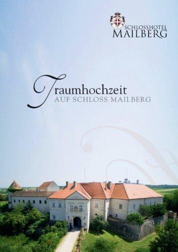 Schlosshotel Mailberg Hochzeitsmappe 2018