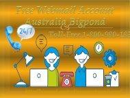 Free Webmail Account Australia Bigpond 1-800-980-183| Login Without Error