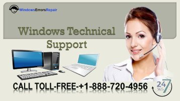 Windows Technical Support