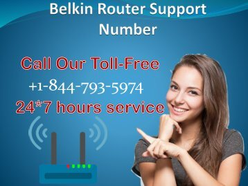Belkin Router Support Number