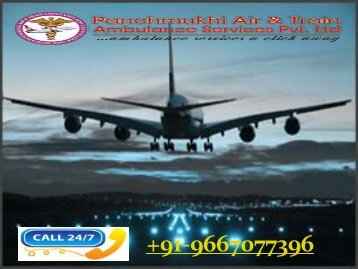 Panchmukhi Emergency Air Ambulance Service in Vijayawada with Doctor