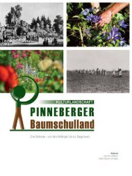 Kulturlandschaft Pinneberger Baumschulland. Eine Zeitreise - von den Anfängen bis zur Gegenwart