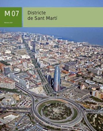 Districte de Sant Martí - Ajuntament de Barcelona