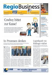 REGIOBUSINESS NR. 194 - 08/2018