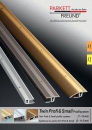 TwinProfi&SmallProfilsystem Twin Profi & Small ... - Holzstudio Desch