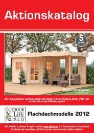 Aktionskatalog Flachdachmodelle 2012 Alle ... - Holzstudio Desch
