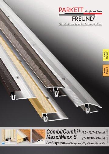 Combi/Combi+ Maxx/Maxx S - Holzstudio Desch