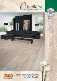 15 Der ausdrucksstarke Holzboden mit edlem Charakter.