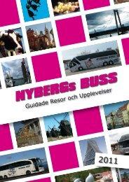 Guidade Resor och Upplevelser ... - Nybergs Buss