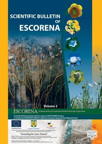 Scientific bulletin of ESCORENA - Aurel Vlaicu