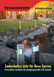 Außenbeleuchtung Zauberhaftes Licht für Ihren Garten
