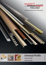 Universal Profile - Holzstudio Desch