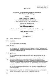 Auslösungssätze - Fachverband Sanitär Heizung Klima Baden ...