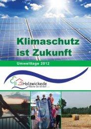 Umwelttage 2012 - Gemeinde Holzwickede