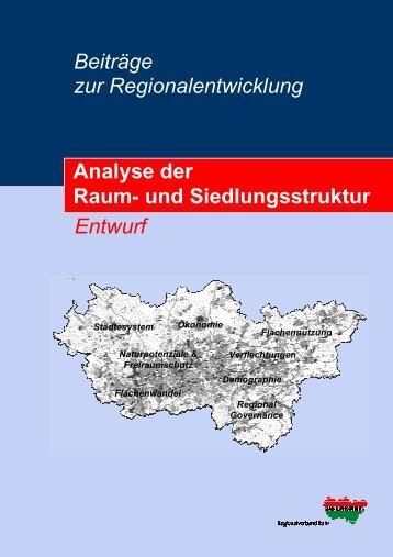 Beiträge zur Regionalentwicklung Raumanalyse - Gemeinde ...